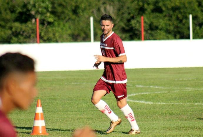 América-RN - Wellington Sabão, atacante (Foto: Canindé Pereira/América FC)