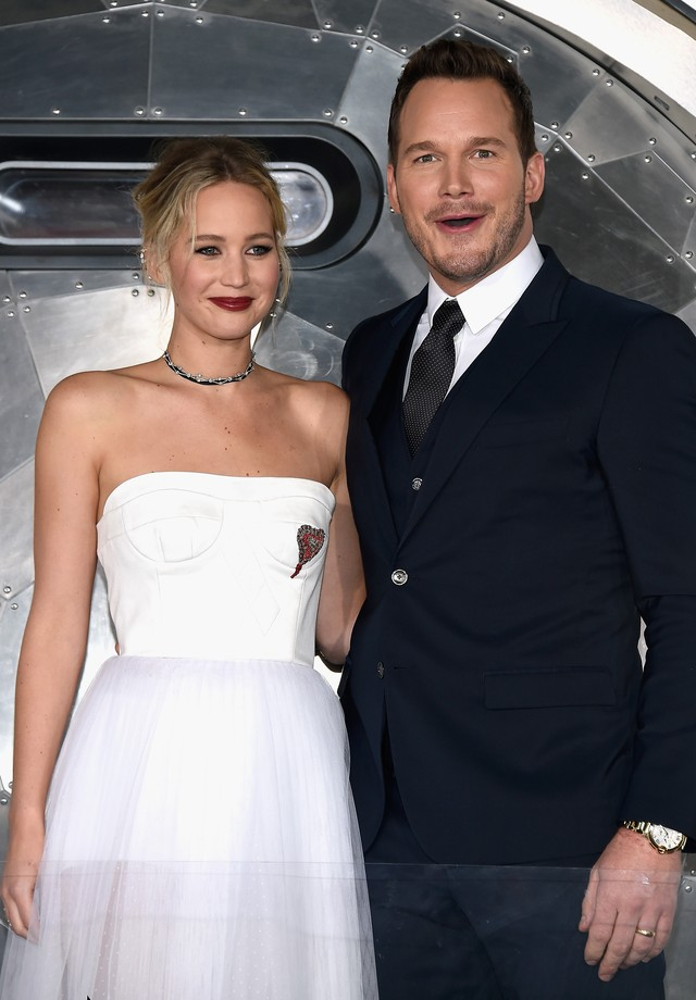 Jennifer Lawrence e Chris Pratt (Foto: Getty Images)