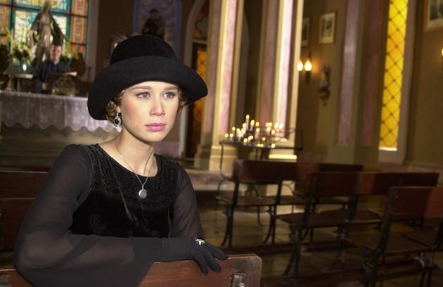 Mariana Ximenes interpretou Ana Francisca em 'Chocolate com pimenta'. Seu grande amor era Danilo (Murilo Benício) (Foto: Gianne Carvalho/ TV Globo)