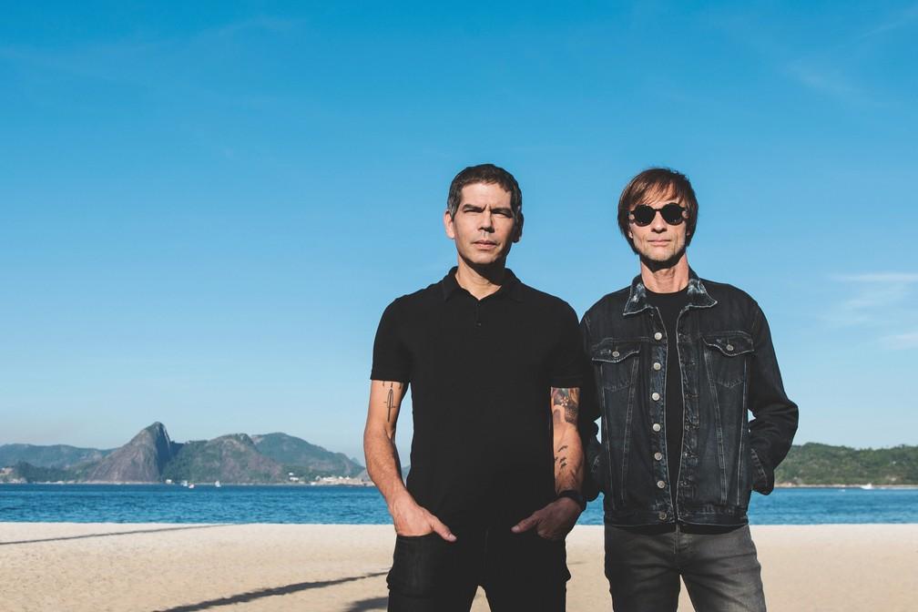 Dado e Bonfá: prontos para a nova turnê. (Foto: Fernando Schlaepfer)