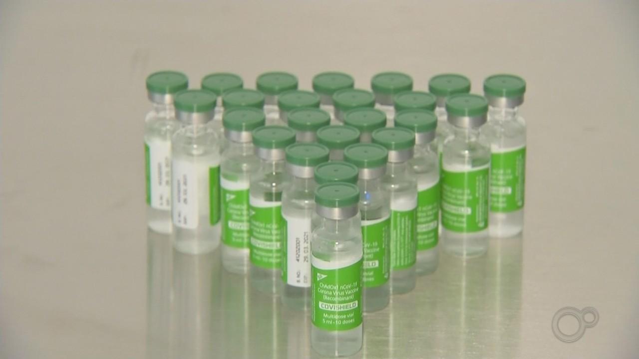 Quase 10 mil doses da vacina contra a Covid são enviadas à região de Itapetininga
