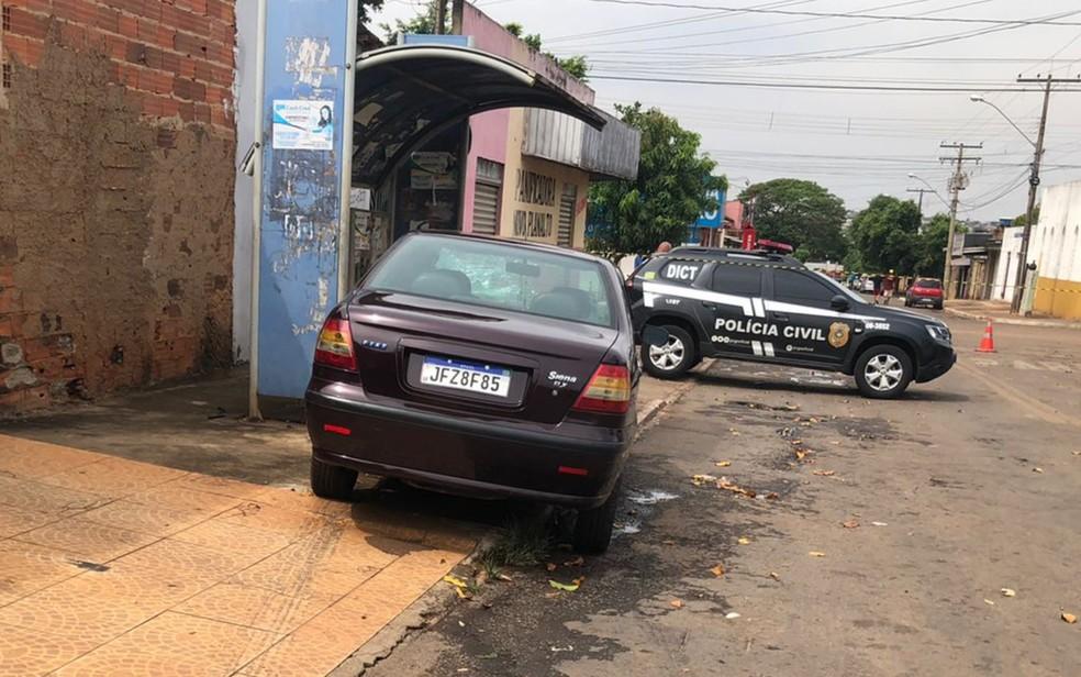 Motorista idoso que dirigia bêbado é suspeito de matar homem que andava empurrando bicicleta em Goiânia — Foto: Reprodução/Dict