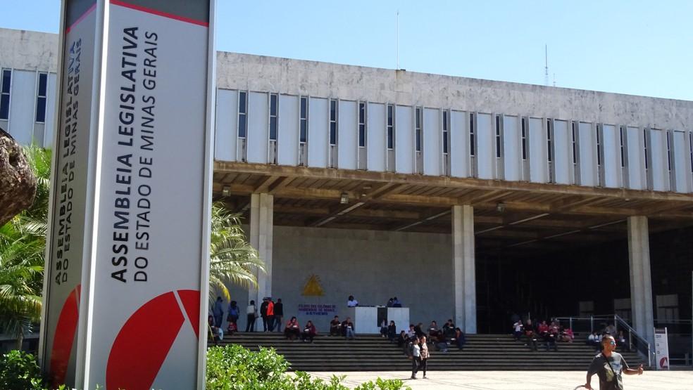 Assembleia Legislativa de Minas Gerais — Foto: Pedro Ângelo/G1