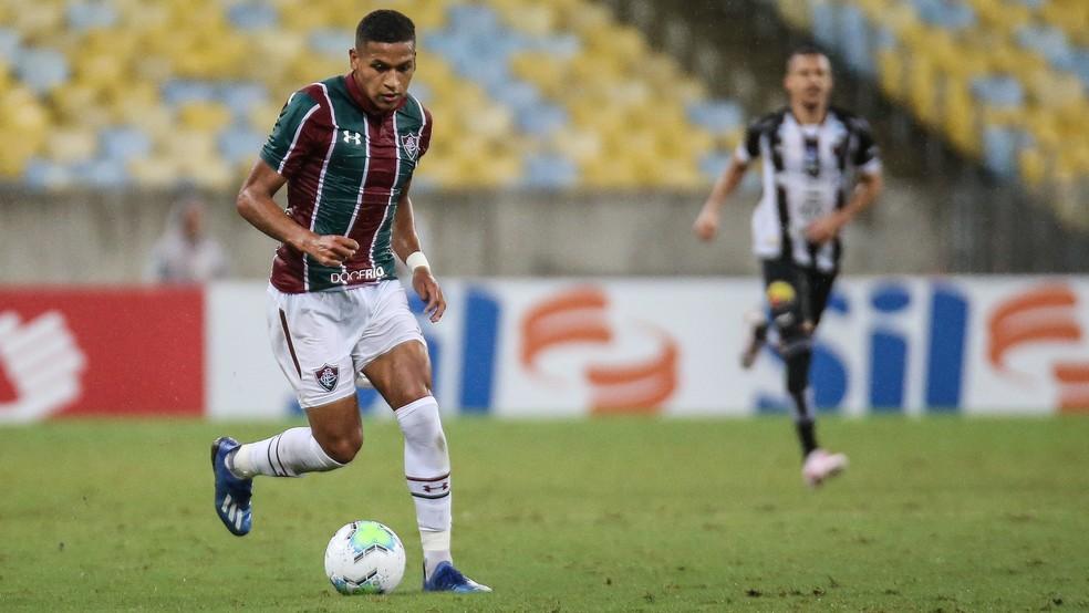 Pacheco pode estar de saída do Fluminense — Foto: Lucas Merçon / Fluminense FC