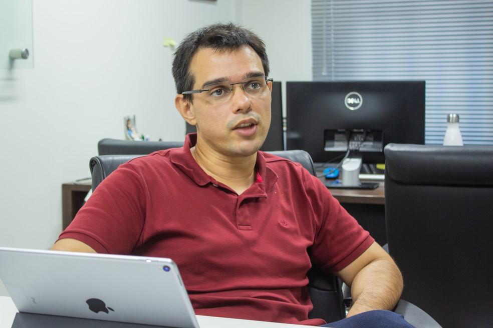 Gleydson Lima, diretor da Esig Software e Consultoria — Foto: Felipe Araújo