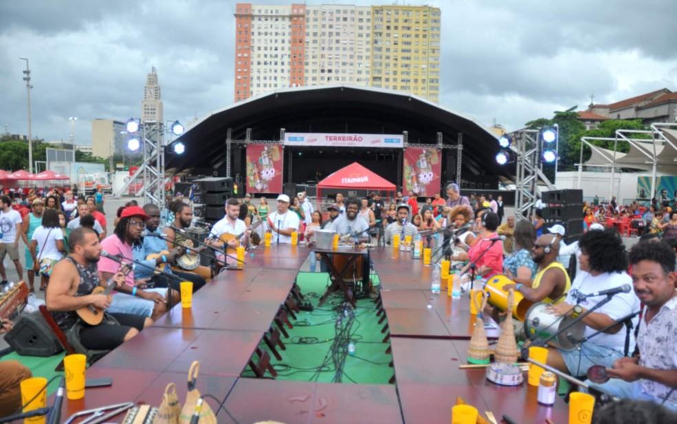 Terreirão do Samba em foto de 2019 — Foto: Eduardo Trinta/Divulgação