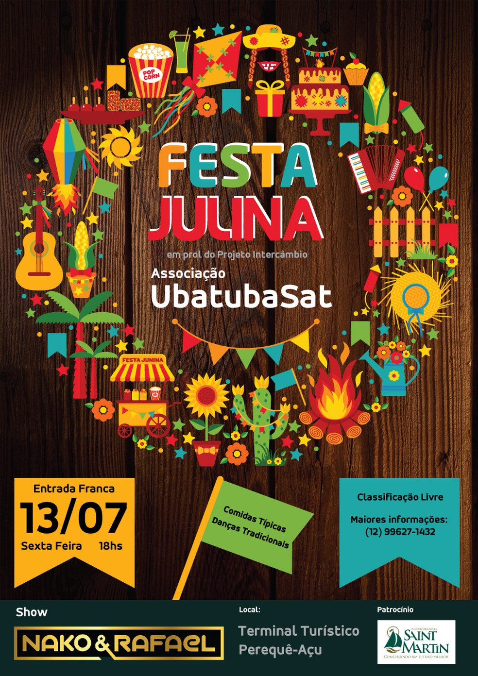 Intercâmbio tem apoio de empresa de Ubatuba.  (Foto: Divulgação)