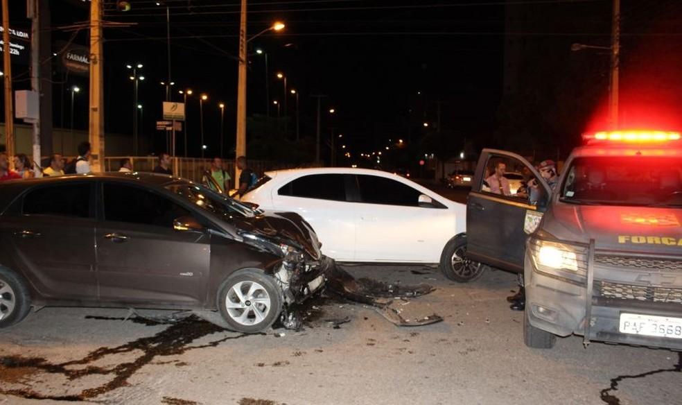 Homem morre após ser baleado durante tentavia de assalto em Mossoró (Foto: Marcelino Neto/O Câmera)