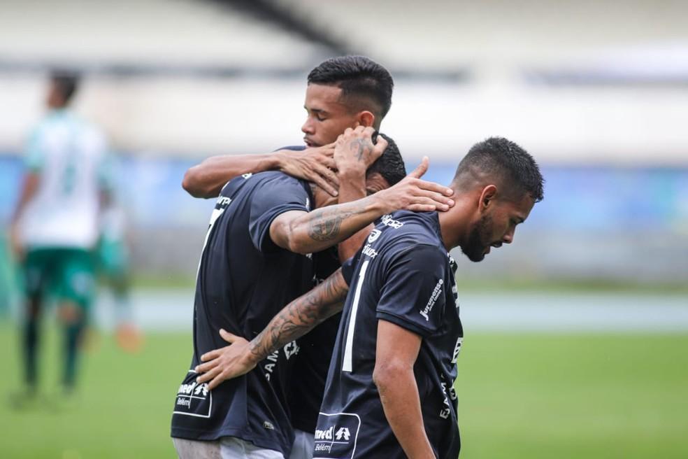 Hélio Borges, Pingo e Wallace estão entre os atletas formados no clube — Foto: Samara Miranda/Remo