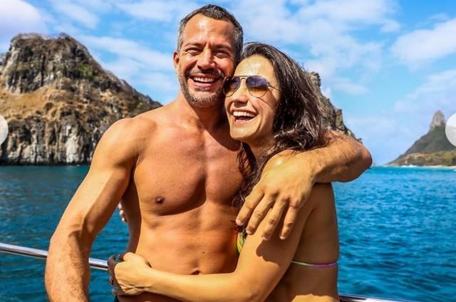 Malvino Salvador e Kyra Gracie (Foto: Reprodução/Instagram)