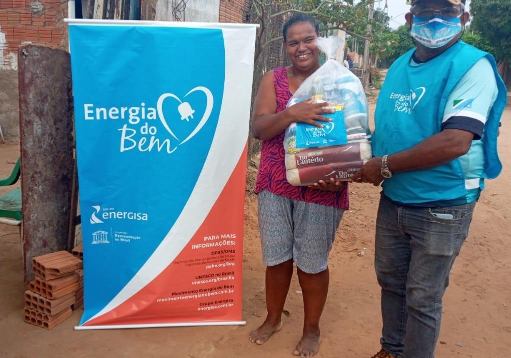 Ação da Energisa e Unesco beneficia famílias combatendo a fome durante a pandemia em MS