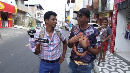 O 'Vumbora' conhece a cultura junina do bairro da Capelinha