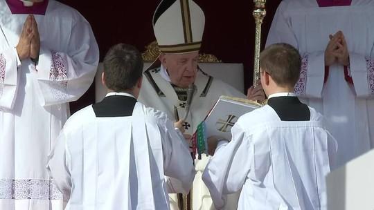 VÍDEOS: 7 momentos marcantes da cerimônia no Vaticano