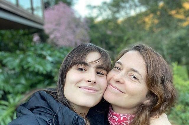 Maria Maud e Claudia Abreu (Foto: Reprodução)
