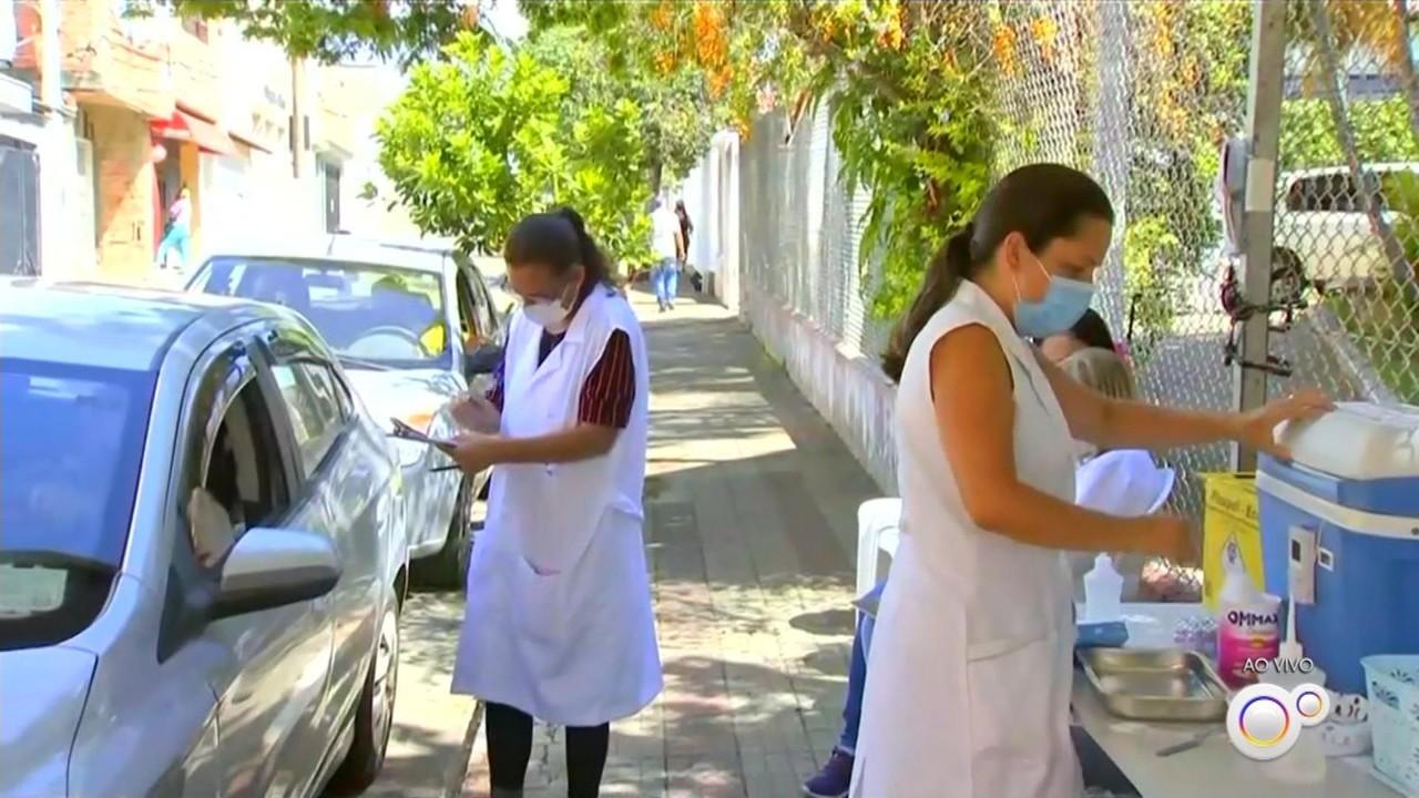 Região de Itapetininga inicia a vacinação contra o coronavírus e gripe nesta segunda-feira