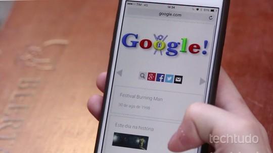 Dia dos Pais é celebrado em Doodle do Google