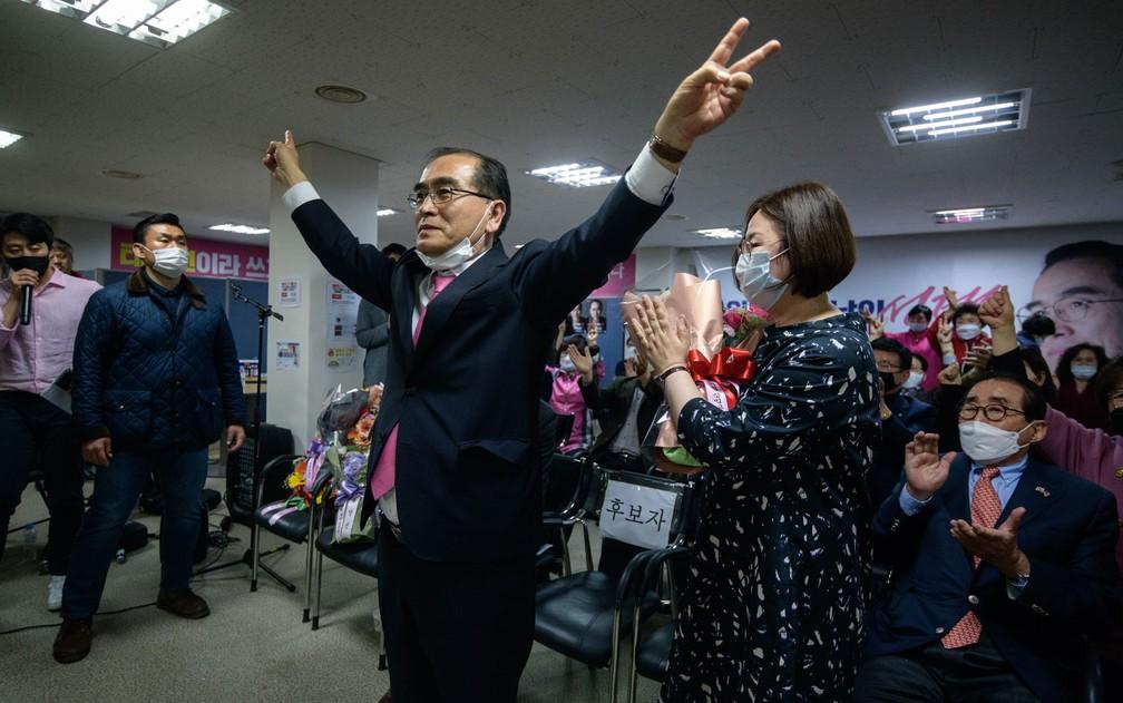 thae young ho o desertor norte coreano eleito para o congresso na coreia do sul mundo g1 thae young ho o desertor norte coreano