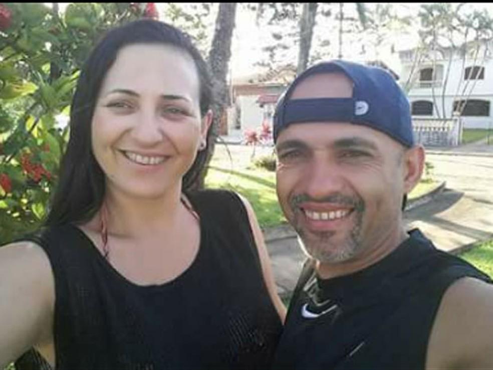 Luciana foi morta pelo marido, Arnaldo Moura (Foto: Reprodução/Arquivo Pessoal)