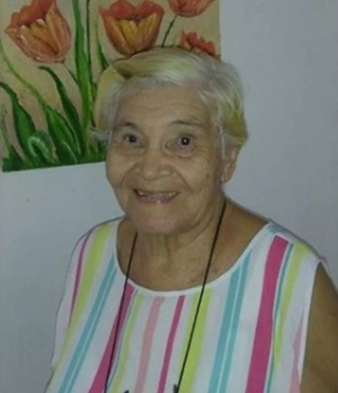 Maria Silva de Arruda, de 83 anos, morreu com Covid-19 — Foto: Divulgação