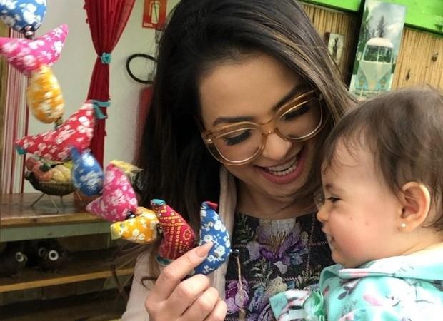 Li Martins e a filha (Foto: Reprodução/Instagram)