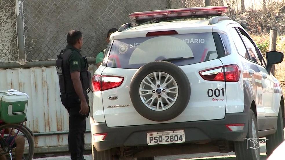 Preso conseguiu passar por segurança após fugir de delegacia em Imperatriz (MA). (Foto: Reprodução/TV Mirante)