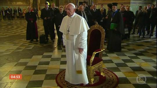 Papa visita a Bulgária e pede que país crie condições para imigrantes de zonas de conflito