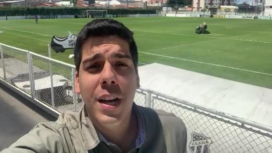 "Enderson admite dúvida no ataque do Ceará e elogia Cuca: ""Muito estrategista"""