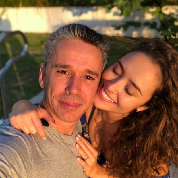 Amanda Richter e Felipe Carreras (Foto: Reprodução/Instagram)