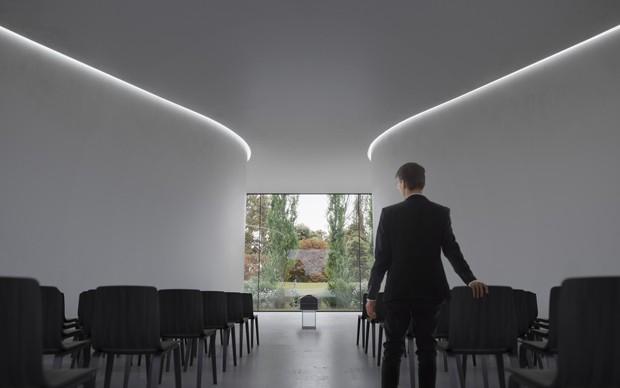 Escritório holandês projeta novo centro funerário (Foto: Visuais VERO/Reprodução)