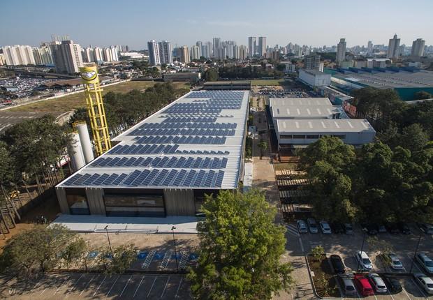 Vista aérea da nova sede do Mercado Livre (Foto: Divulgação)