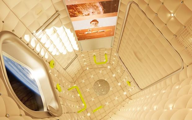 Philippe Starck cria interiores para a primeira estação espacial turística (Foto: Reprodução)