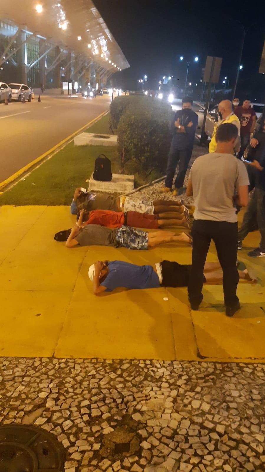 Quatro adolescentes são apreendidos por tentativa de assalto no aeroporto de Belém