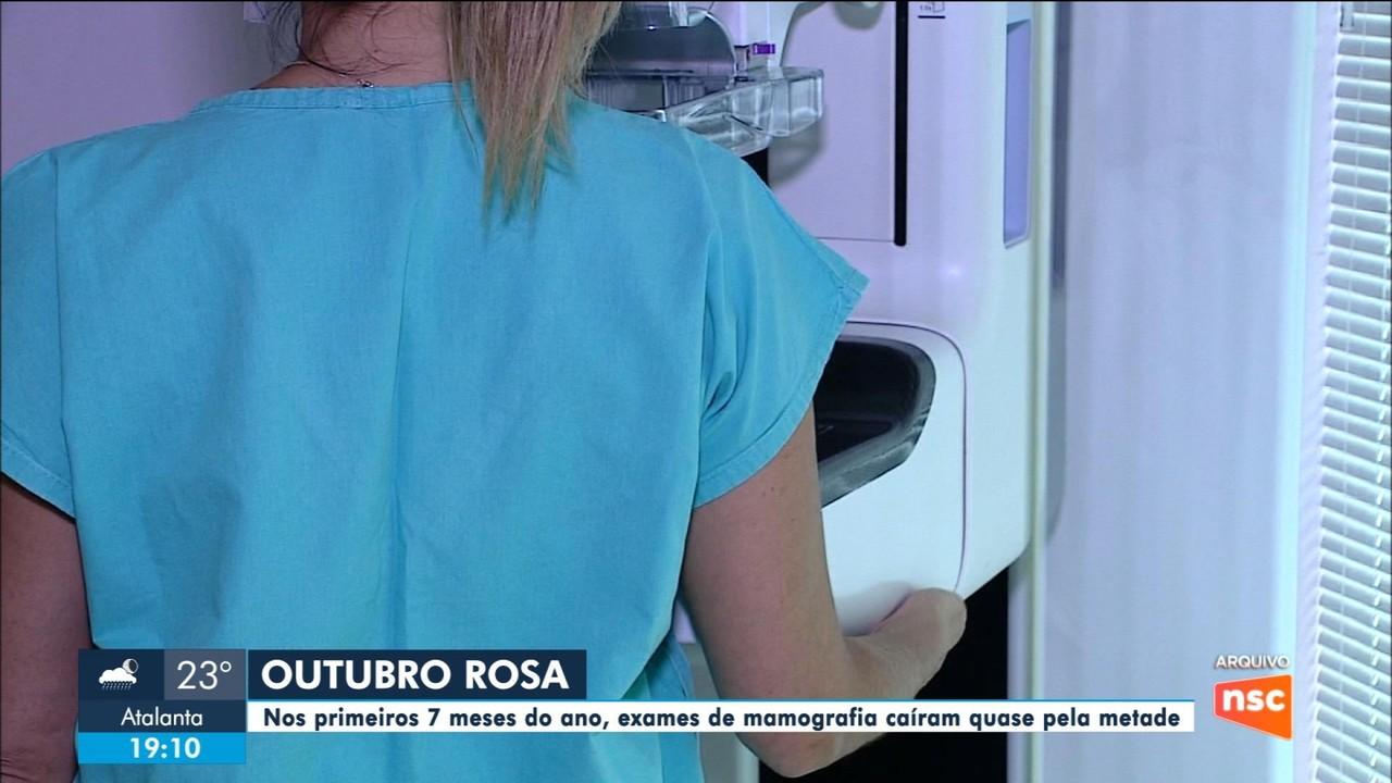 Procura por exames de mamografia caem quase pela metade na pandemia