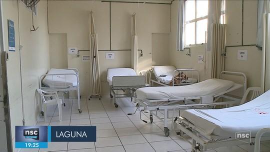 Giro: Hospital de Laguna passa a atender somente casos de urgência e emergência