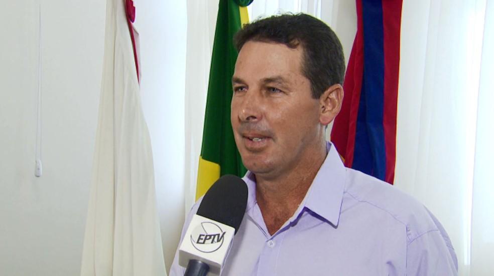 Vice assumiu prefeitura após morte de prefeito em Nova Resende (MG) (Foto: Reprodução/EPTV)