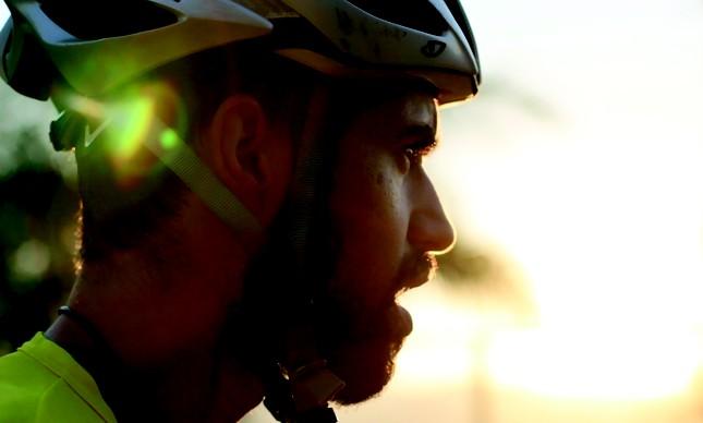 O mountain biker José Ilson Jr, o Ilsinho, treina para voltar a competir