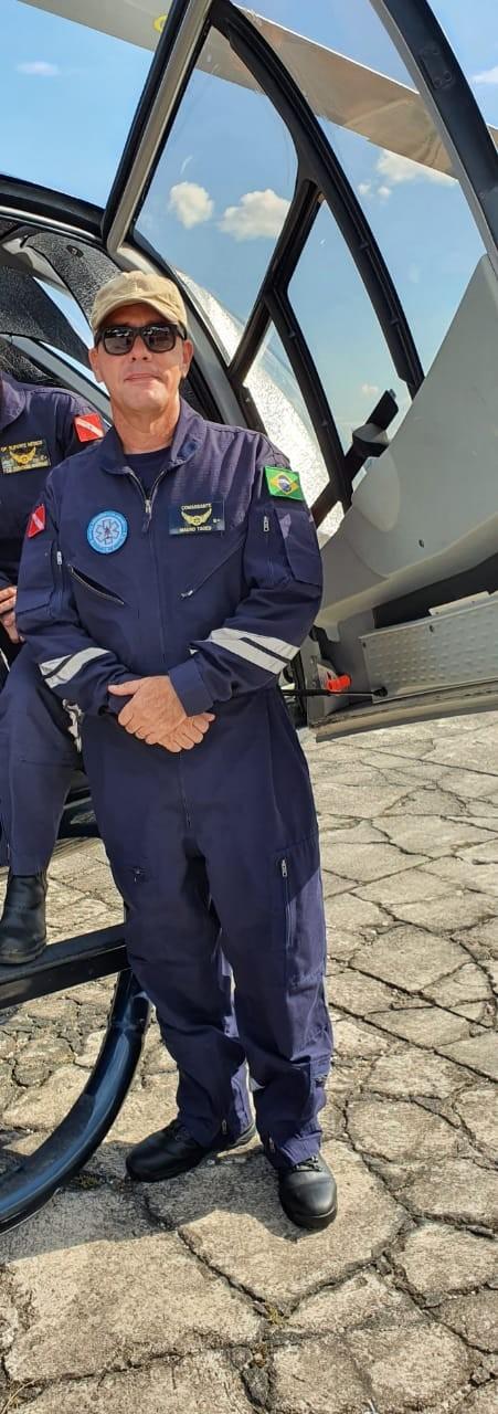 Corpo de piloto que morreu em queda de helicóptero no Pantanal ainda não foi resgatado por difícil acesso na região
