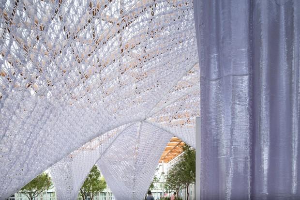 Arquitetos constroem projeto em 100 dias em Xangai com ajuda de robôs (Foto: Divulgação)