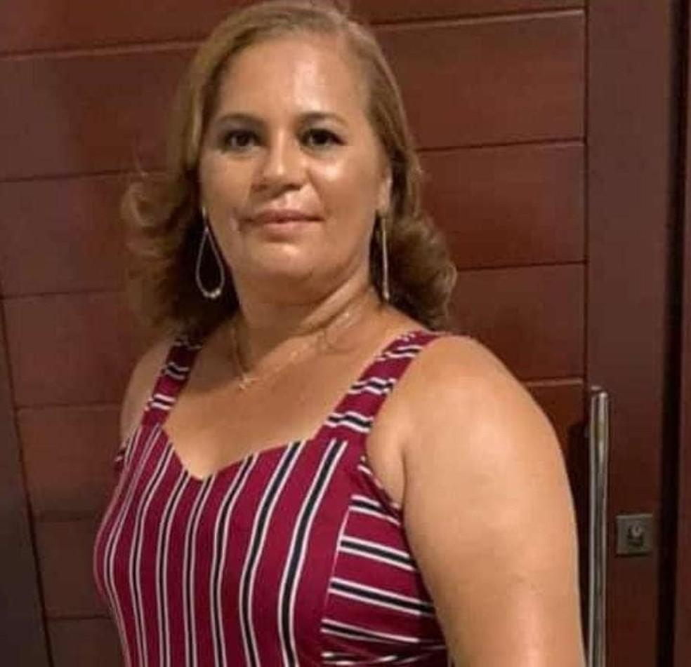 Valdenuzia Brito, de 49 anos, morreu vítima da Covid-19 na última quarta-feira (17) em João Câmara — Foto: cedida