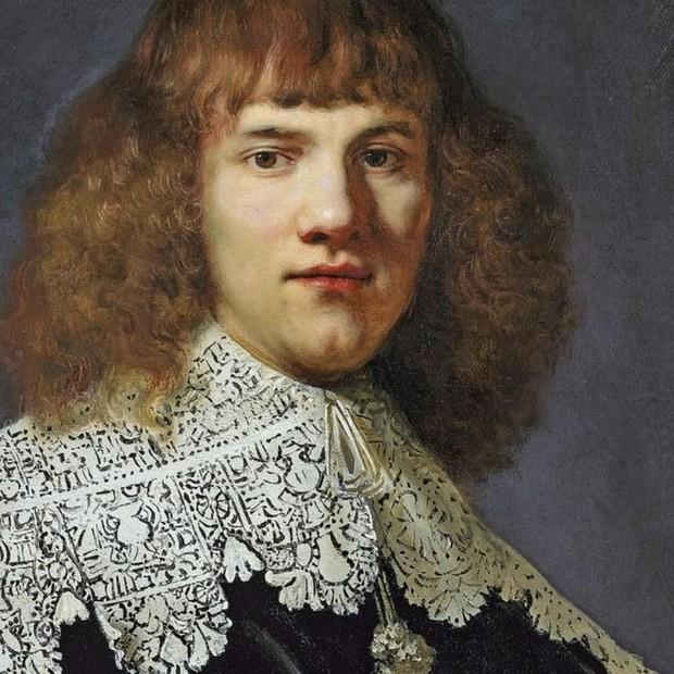 """Detalhe do """"Retrato de um Jovem Cavalheiro"""", do Rembrandt (Foto: Reprodução/Instagram)"""