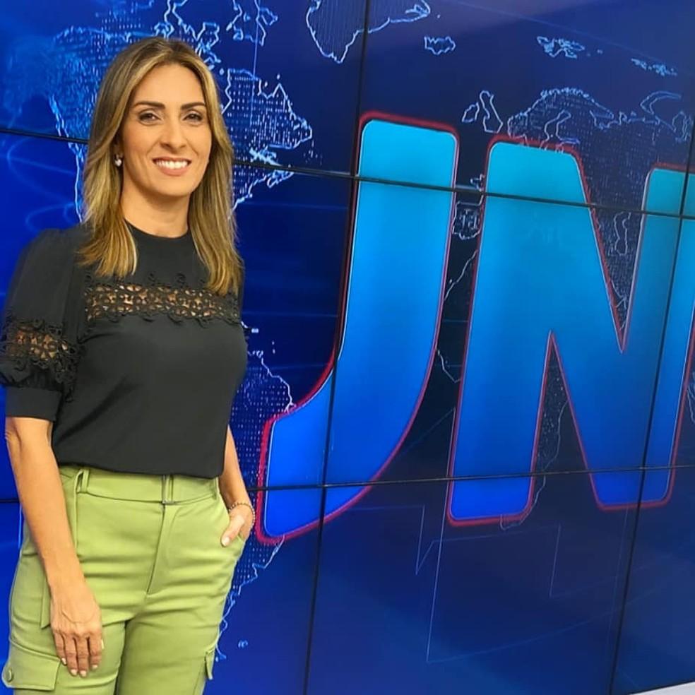 Lídia Pace representa o RN na apresentação do Jornal Nacional no próximo sábado (30) — Foto: Divulgação