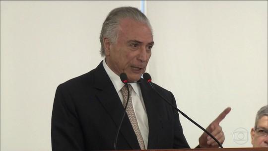 Empresas portuárias repassaram R$ 6 milhões em propina para Temer, diz PF
