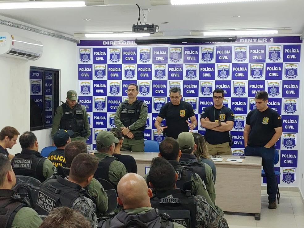Operação 'Rio da Prata' é realizada em Bonito — Foto: Polícia Civil/Divulgação