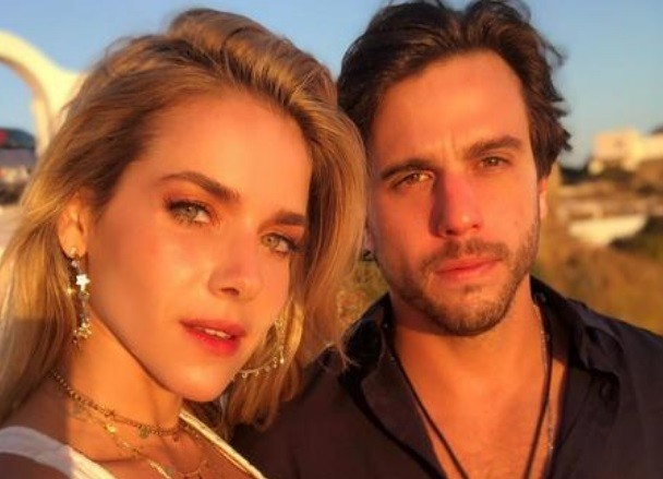 Monique Alfradique e Gabriel Drummond (Foto: Reprodução/Instagram)
