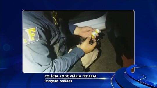 Anabolizantes são apreendidos pela polícia dentro de carro em Nova Granada
