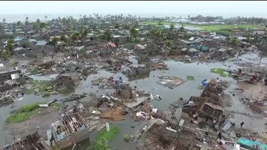 Tragédia no sul da África: sobreviventes de ciclone sofrem com falta de água, comida e luz