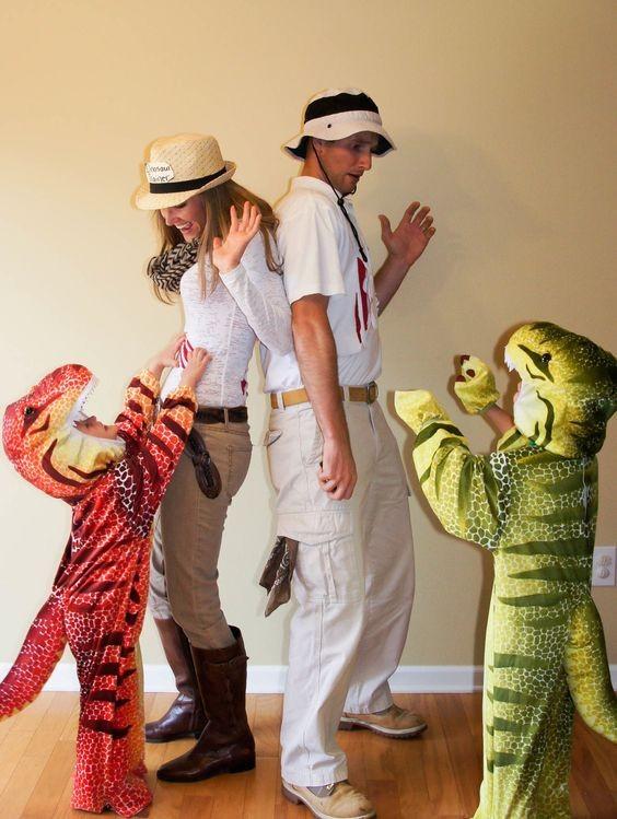 Família dinossauro  (Foto: Pinterest )