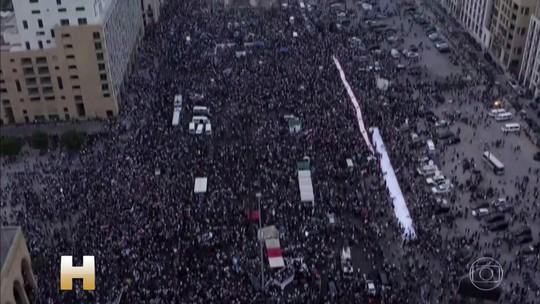Governo do Líbano se reúne para tentar lidar com as manifestações