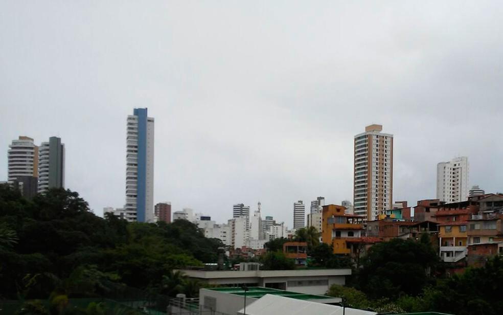 Tempo instável irá marcar final de semana em Salvador, aponta Inmet (Foto: Henrique Mendes / G1)