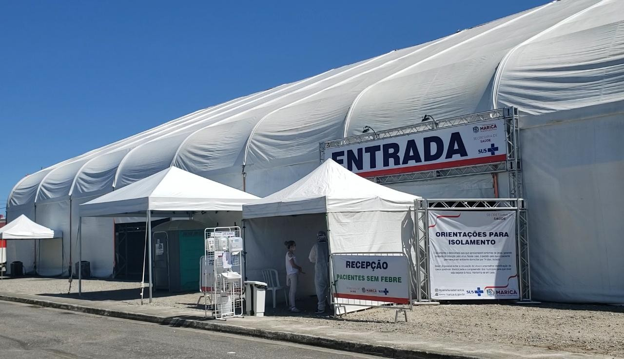 Polo de triagem da COVID-19 é inaugurado em Maricá, no RJ